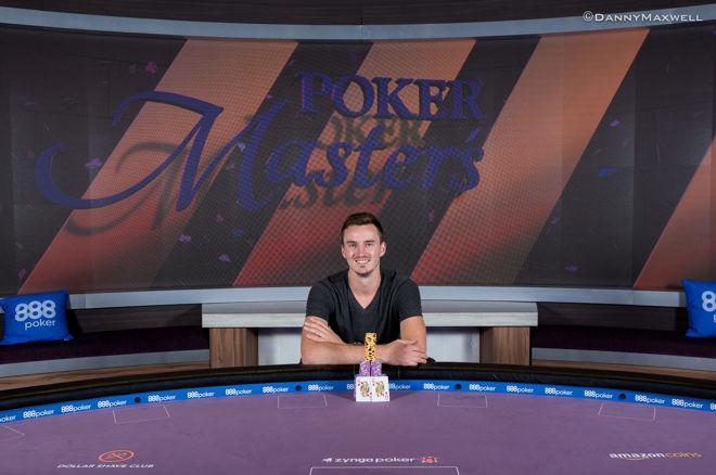Steffen Sontheimer consigue la primera chaqueta púrpura del Poker Masters tras su segunda... 0001