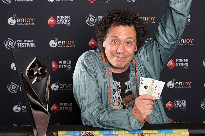 Julio Belluscio ganó el Main Event del PokerStars Festival Uruguay por 66.748 $ 0001