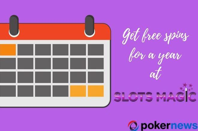 Get Free Spins for a Year at Slots Magic Casino 0001