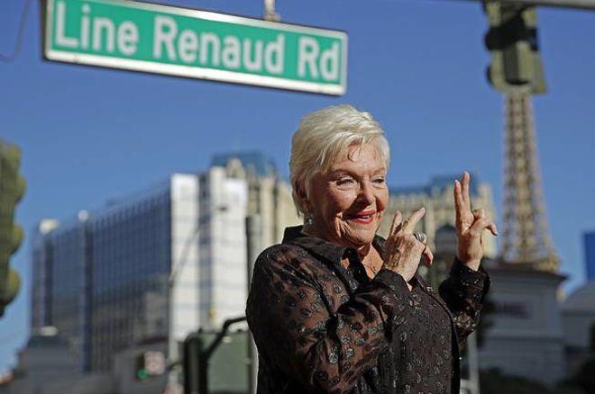 Consécration Line Renaud inaugure une rue à son nom à Las Vegas