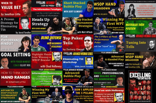 Jonathan Little's Excelling at No-Limit Hold'em Webinar Series Nearing End