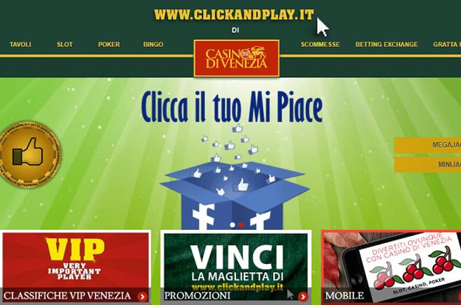 Diventa Testimonial del Casinò di Venezia online!
