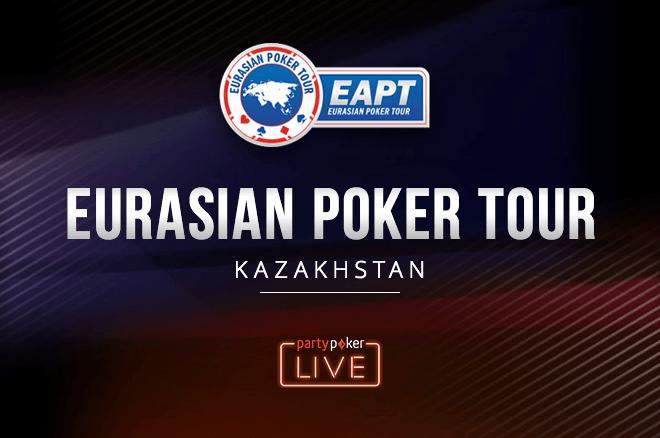 The partypoker EAPT Kazakhstan Heads to Cashville Casino Oct. 5 0001