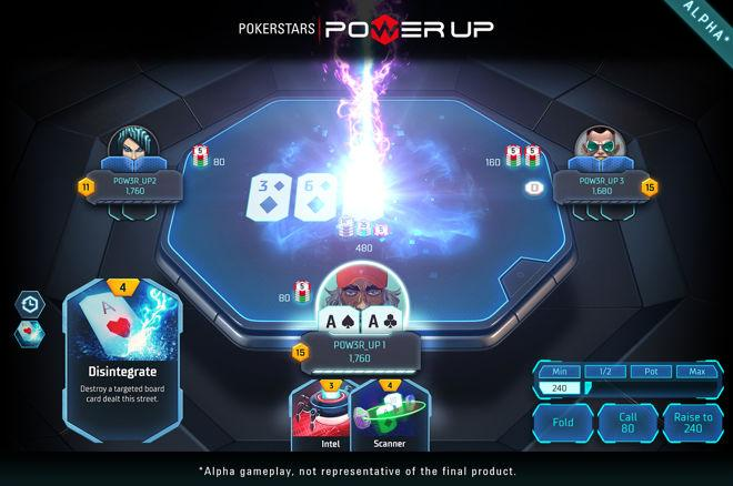 "PokerStars lanceert ""Power Up""-game voor echt geld"