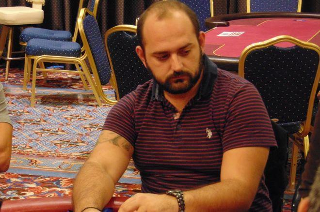 49 παίκτες με chip leader το Δημήτρη Γκατζά στη Day 1c του October Superstars PPT 0001