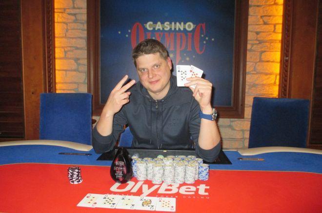 """Pokerio žaidėjai Vilniuje išsidalino """"Knock Out"""" festivalio prizus 0001"""