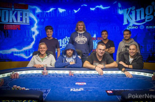 Formada la mesa final del WSOP International Circuit 2017 en el King's Casino Rozvadov 0001