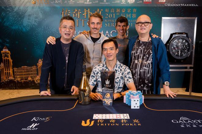 Juanda verslaat Holz voor titel in Triton SHR Series Macau Main Event voor $2,8 miljoen