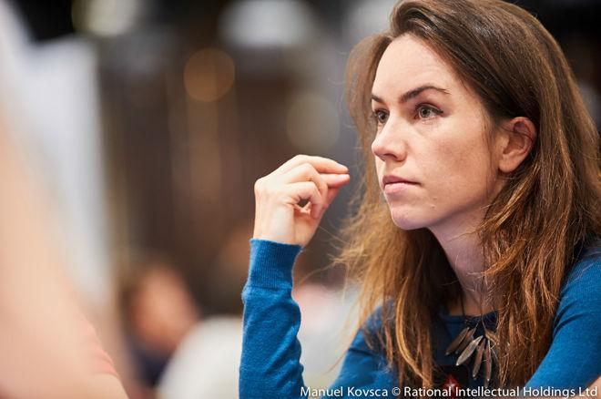 Liv Boeree, Bertrand Grospellier Talk 'Power Up' at PokerStars 0001