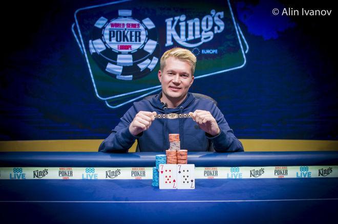 Oleksandr Shcherbak Zgrabio Prvu Zlatnu Narkuvicu WSOP Europe 2017 0001