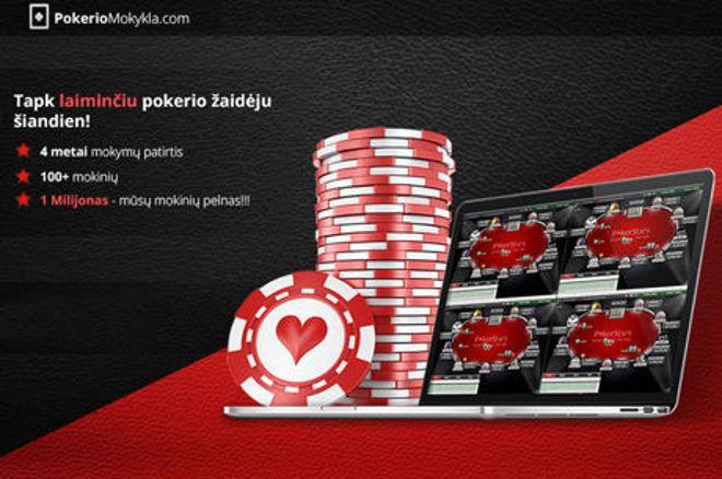 Informacija apie PokerioMokykla.com nemokamų pokerio turnyrų lygą 0001