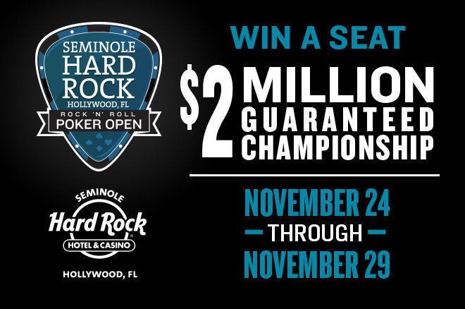 Seminole Hard Rock Announces Rock 'N' Roll Poker Open from Nov. 15-29 0001