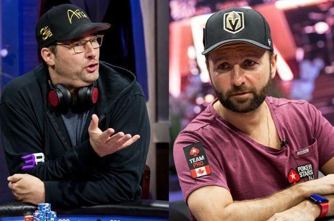 Phil Hellmuth e Daniel Negreanu
