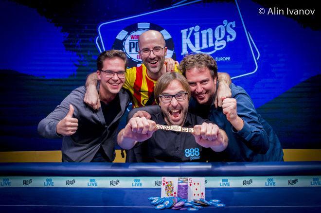 WSOPE Main Event : Qualifié sur Internet pour 220€, il remporte plus d'un million au poker 0001