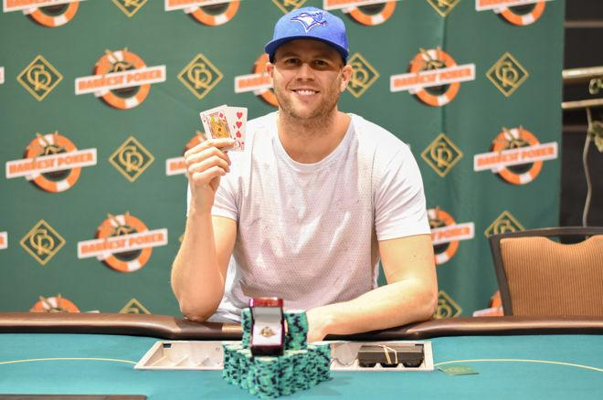 Lyndon Knutson is the 2017 Harvest Poker Classic Main Event Champion 0001
