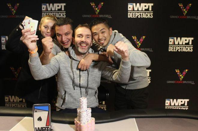 WPT DeepStacks Brussels : Laurent Polito Puissance 5 0001