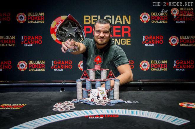 Julien Baldassarré wint BPC Namen voor €88k, Paul Berende tweede (€84k) & Bart Lybaert derde (€76k)