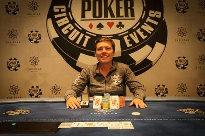 Amanda Gillard Wins the 2017 WSOP Sydney Ladies Event 0001