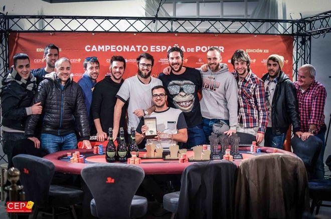 José María Echevarne Campeón de España de Poker 2017; Gabriel Podovei ganador del Main... 0001