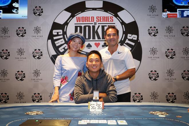 Andy Lee besiegt Martin Finger beim WSOP Sydney High Roller 0001
