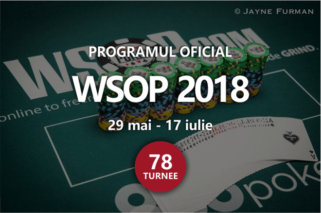 2018 World Series of Poker wsop 2018