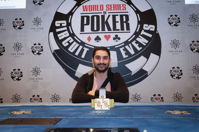 Michael Matsioukkou Wins the 2017 WSOP Sydney Mixed Event 0001