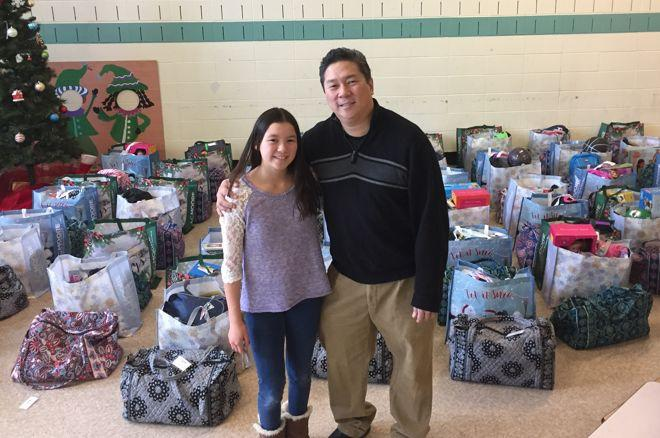 Poker Pro Bernard Lee Fills 'Wish List' of 40 Boston Homeless Families 0001