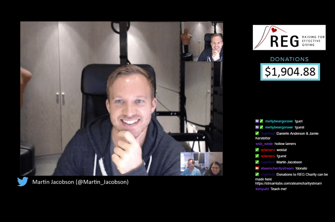 Martin Jacobson Twitch charity stream