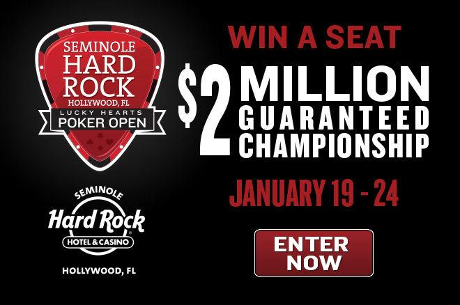 Win Your Seat to the Lucky Hearts Poker Open at Seminole Hard Rock 0001