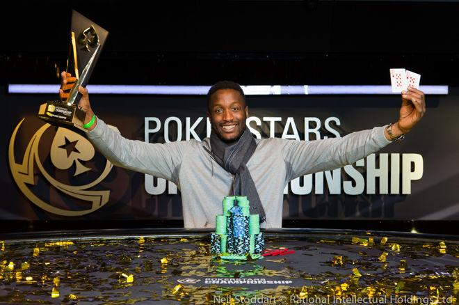 Kalidou Sow PokerStars Festival London
