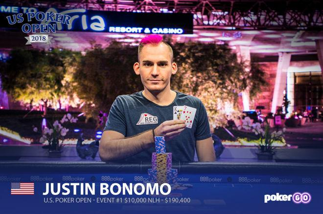 Justin Bonomo - US Poker Open Event 1