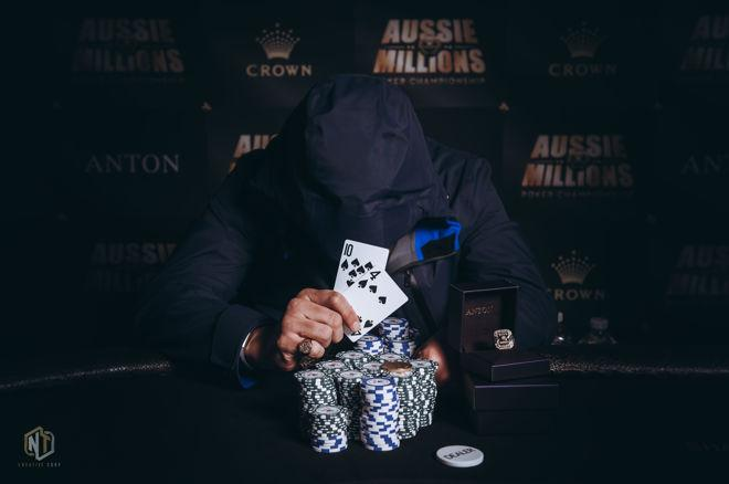 Michael Lim from Malaysia victorious in 2018 Aussie Millions $100,000 Challenge