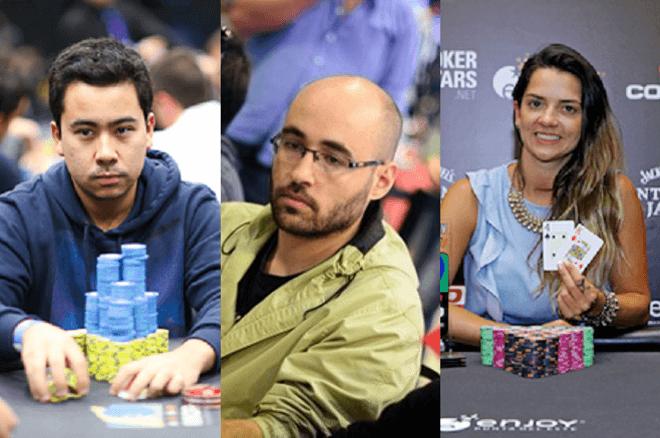 Renato Nomura, Lui Martins e Dayane Kotoviezy
