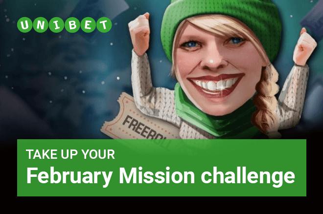 Unibet February Missions