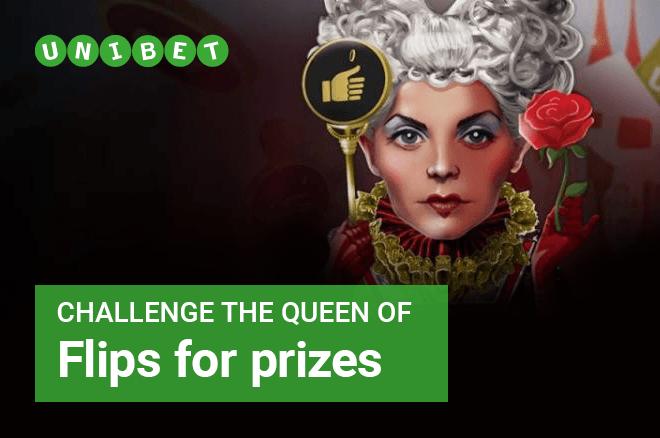 Unibet Queen of Flips