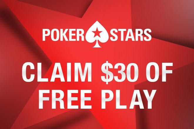 PokerStars Free $30