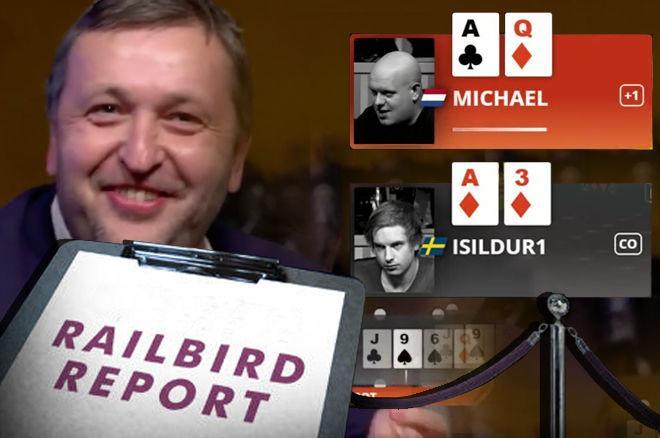 """Tony G, Michael van Gerwen, Viktor """"Isildur1"""" Blom in partypoker Big Game"""