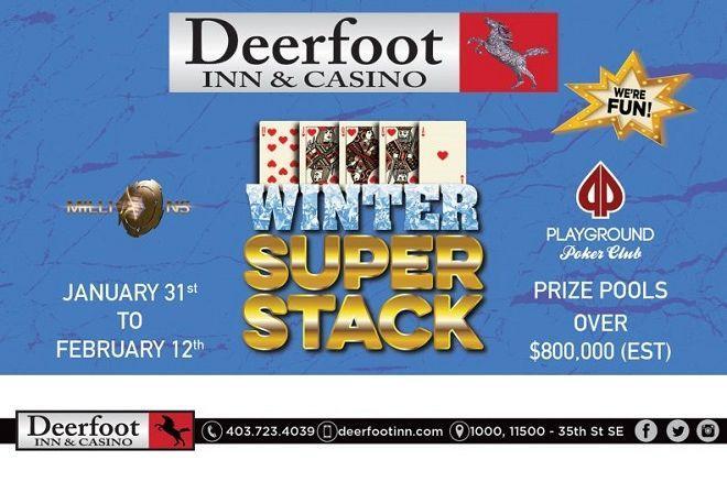Winter Super Stack at Deerfoot Inn & Casino