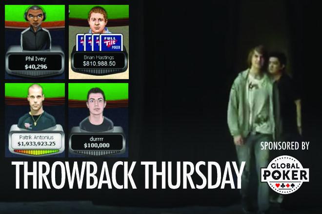 "Global Poker Throwback Thursday with Viktor ""Isildur1"" Blom"