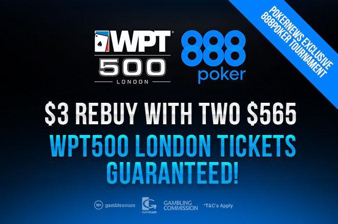 турнир 888poker WPT500 London