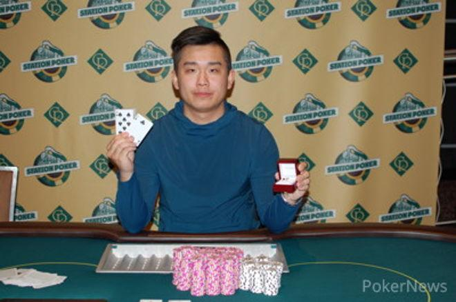 Toby Wu Casino Regina Station Poker Classic