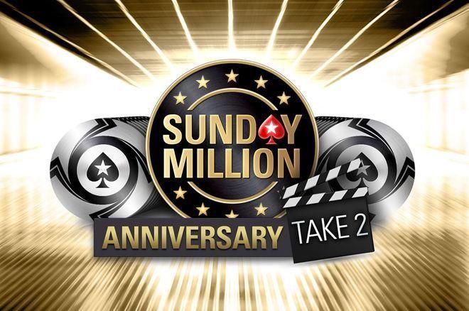 """""""Sunday Million Take 2"""" - šventinio turnyro pakartojimas su 10 milijonų dolerių garantija 0001"""