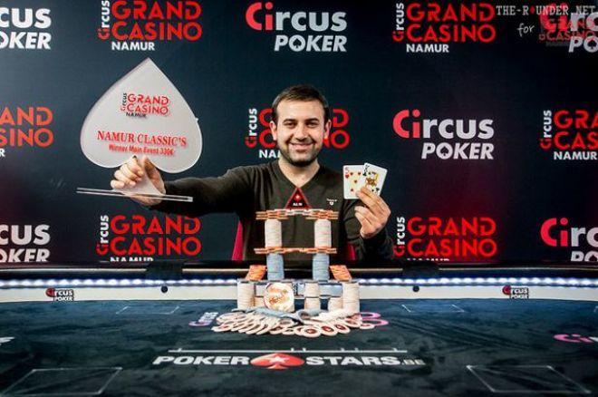 Belgique : Deal à 3 sur la Poker Namur Classic's, 12 Français dans l'argent 0001