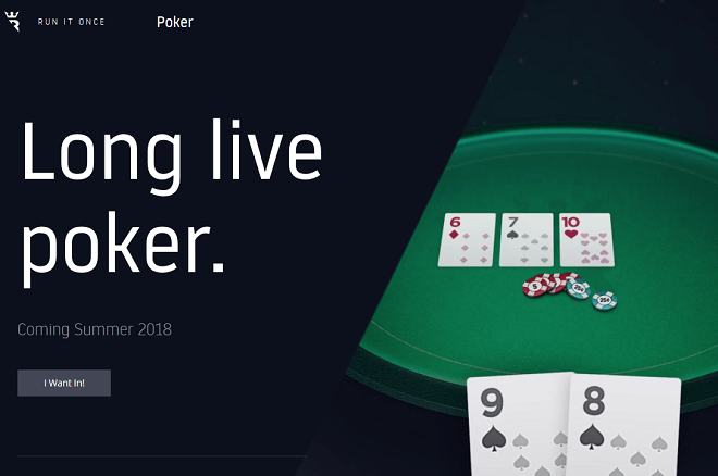 Poker Online Run it Once