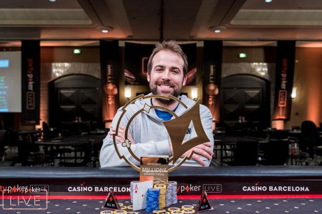 Pascal Lefrancois wint het 2018 partypoker LIVE MILLIONS Grand Final Barcelona €10.300 Main Event (€1.700.000)