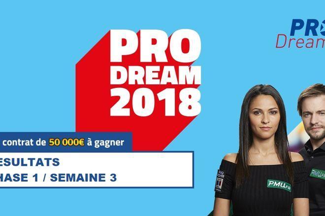 PRODream 2018 : La liste complète des 36 qualifiés pour les demi-finales 0001