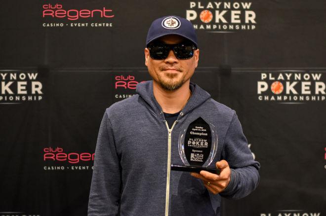 Khai Nguyen PlayNow Poker Championship