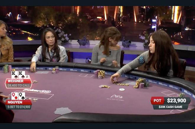 Melanie Weisner Analyzes 'Poker After Dark' Hand Against Tracy Nguyen