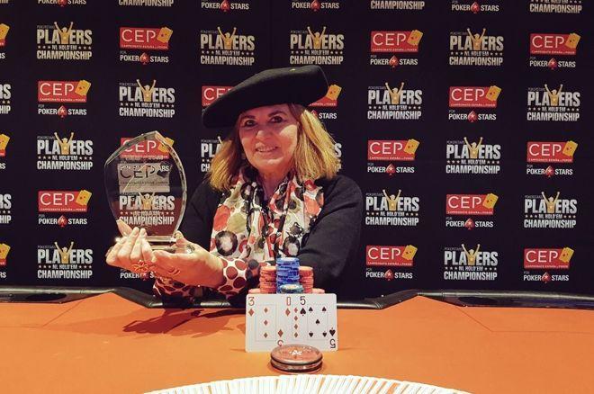 Isabel Zapatería flamante campeona del CEP por PokerStars San Sebastián 2018 0001