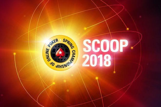 """2018 SCOOP (9) - """"lehout"""" als chipleader naar finaledag van $530 NLHE Deep Stacks 0001"""